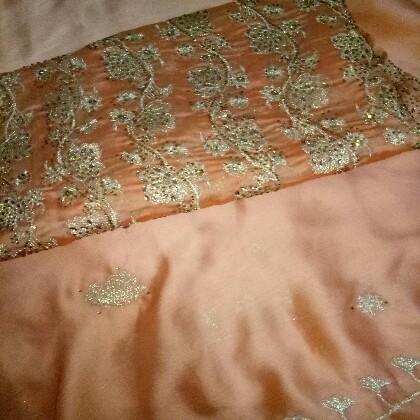 Fancy silk dress