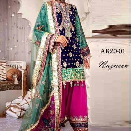 Anaya Luxury Vol'21 Available in *Lawn* Fabrics 3pc!!